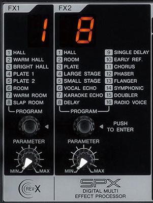 FX Yamaha MGP16X