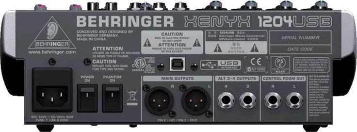 Behringer XENYX 1204USB